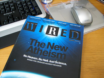 new atheism -- wired =no heaven no hell just science=